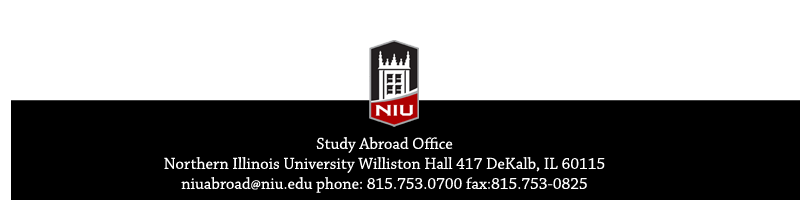 Study Abroad - Northern Illinois University